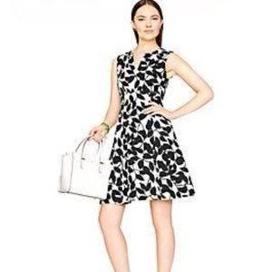 EUC Kate Spade leaf dress
